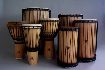 AFRICAN-STYLE-DRUMS